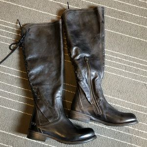 NWOB BedStu Surrey Tall Lace Up Boots
